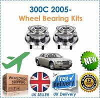For Chrysler 300C 3.0DT 3.5i 5.7i 6.1 2005- 2 Rear Wheel Bearing Kit Set New