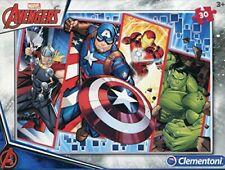Clementoni 08518 08518-Supercolor Avengers Puzzle-30 Pieces, Multi-Coloured