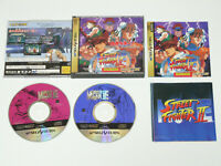 STREET FIGHTER II MOVIE SEGA SATURN Video Game