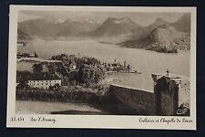 Carte postale ancienne CPA LAC D'ANNECY - TALLOIRES et Chapelle de Toron
