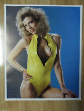 Sexy Girl Dorm Poster Big Hair Vintage '80s Kimberly Layne Swimsuit
