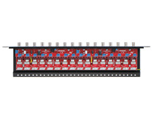 16CH PATCH PANEL SURGE PROTECTION POWER SUPPLY DISTRIBUTION UTP COAXIAL