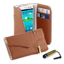 Fundas y carcasas Para Samsung Galaxy S color principal marrón de piel para teléfonos móviles y PDAs
