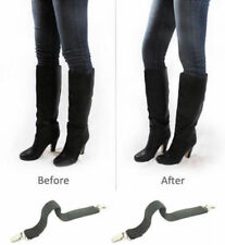 Boot Straps Pant Clips for Jeans & Pants Adjustable Snkle Strap - Inside BOOTS