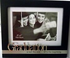 GRADUATION ISN'T THE END...THE BEGINNING PHOTO FRAME SCHOOL UNIVERSITY GRADUATES