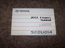 2007 Toyota Sequoia Factory Owner Owner's User Guide Manual SR5 Limited 4.7L V8