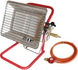 Adjustable Portable Commercial Garage Workshop LPG Propane Gas Site Space Heater