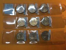 FRANCE 10 FRANCS MATHIEU 1974 / 1975 / 1976 et autres SPL - CUPRO NICKEL - LOT -