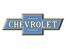Classic Early Chevy Bowtie Blue Wall Graphic Man Cave Garage Decor Decal Cling