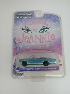 GREENLIGHT GREEN MACHINE HOLLYWOOD DREAM OF JEANNIE 1967 PONTIAC GTO CONVERTIBLE