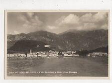 Lago di Como Bellagio Villa Serbelloni Hotel Gran Bretagne 1931 RP Postcard 848a