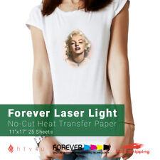 Forever Laser Light No Cut Heat Transfer Paper 11 X 17 25 Sheets