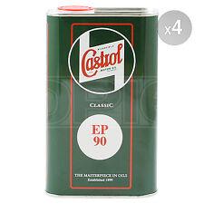 Castrol Classic EP90 Mineral Based Multi-Purpose Extreme Pressure Oil - 4 x 1L