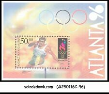 KAZAKHSTAN - 1996 OLYMPIC GAMES ATLANTA '96 - MIN. SHEET - MINT NH