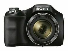 NEW Sony DSC-H300/BM 20.1MP High Zoom Point and Shoot Camera 35x Zoom Black