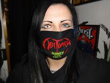 Death Metal Mund und Gesichtsmaske Behelfsmaske Waschbar Slowly...........