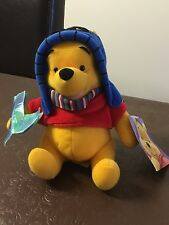 Winnie the Pooh Winter soft toy - Part of a collection. Brand new with tags