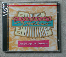 """CD AUDIO MUSIQUE INT/ BUCKWHEAT ZYDECO """"TAKING IT HOME"""" CD ALBUM PROMO 10T 1988"""