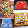 Assorted Colors Polystyrene Styrofoam Filler Foam Mini Beads Balls Crafts