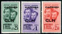 Emissioni Locali 1945 C.L.N. Piacenza ** (m577)