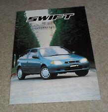 Suzuki Swift Brochure 1998 - 1.0 GLS 1.3 GLS 1.0 GL 1.0 GLX 1.3 GLX 3 & 5 Door