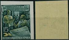 Ddr174c) DDR 1955, Michel n. 487 B B tagliate, posta freschi
