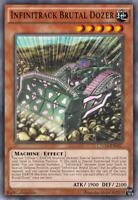 Yugioh 3x CHIM-EN022 - Infinitrack Brutal Dozer - Common - 1st Edition
