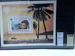 DOMINICA (1979) Block 55 postfrisch (Lot 1508)