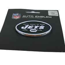 New NFL New York Jets Auto Car Truck Heavy Duty Metal Color Emblem