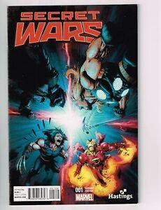 Secret Wars 1 Hastings Variant Nm Avengers