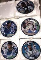 Bradford Exchange Ken Griffey Jr. King Of The Majors Collector Plates Set of 5