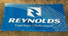 Reynolds Cycling Perforated Cloth Banner With Brass Grommets Reynolds Wheels
