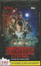 2018 Topps Stranger Things Season 1 Hobby Trading Card Box - 2 Hits Per Box