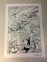 MARRIED WITH CHILDREN comic book art fantastic four parody 1993 battle DR DOOM