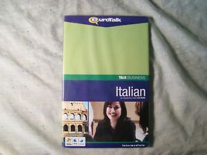 EuroTalk Talk Business Italian with Bonus