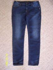 Women's Silver AIKO Joga Jeans W34/L31 High Skinny fit casual Joga Denim whiskin