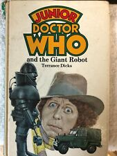 Junior Doctor Who and the Giant Robot-Terrance Dicks Wh Allen Hardcover