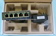 NEW NETGEAR ProSAFE GS105Ev2 5-Port Gigabit Web Managed (Plus) Switch