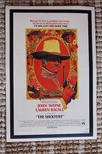 The Shootist Lobby Card Movie Poster Western John Wayne