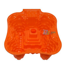 Silicone Mold For Castle Style Cake Mould Chocolate Bread Baking Pan Mould 3D