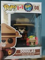 Around the World Canada Mint in Hand - Comes with Pin Douglas #8 Funko Pop