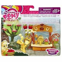 My Little Pony Friendship is Magic Sweet Apple Juice Stand NEW Apple Jack Figure
