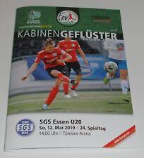 Neues AngebotProgramm FSV Gütersloh - SGS Essen U 20 - 12.05.2019 - 2. Liga Frauen Fussball