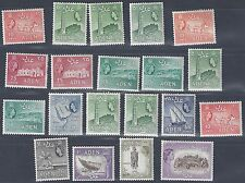 ADEN 1937 55 COLLECTION OF 109 ALL MINT INCLUDING 10 sh & 20 SHILLING VALUES &