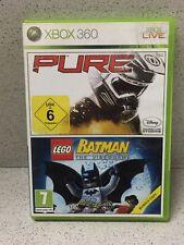 JEU XBOX 360 PURE , BATMAN LEGO AVEC NOTICE