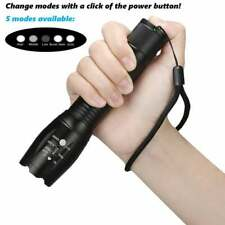 3 x Tactical 10000LM 18650 Flashlight Ultrafire T6 High Powered 5Modes Zoomable