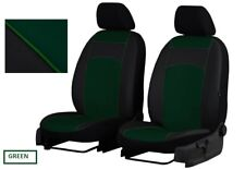Eco-Leather Tailored Front Seat Covers for Nissan Navara D-40 2005 - 20144