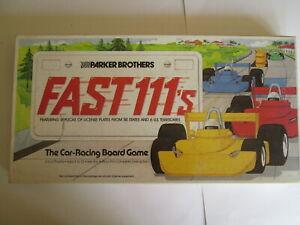 Parker Brothers Fast 111s board game.Vintage game.