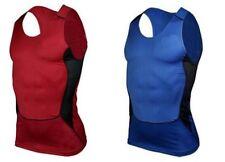 2x Men's Stretchy Sleeveless Base Layer