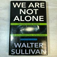 We Are Not Alone, Revised Edition, Walter Sullivan, HC / DJ, 1993, VG